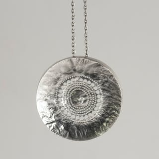 Silver pendant by Liisa Vitali