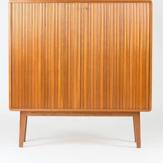 Mahogany cabinet by G.A. Berg