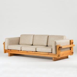 Pine sofa by Yngve Ekström