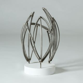 """""""Three Phases"""" sculpture by Fred Leyman"""