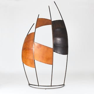 """""""Mirage"""" room divider/sculpture by Fred Leyman"""