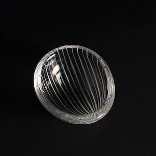 "Glass ""Kantarelli"" bowl by Tapio Wirkkala"