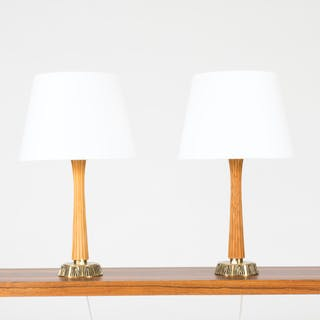 Pair of table lamps by Sonja Katzin