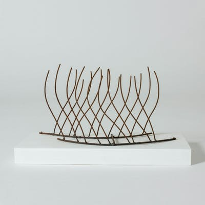 Iron sculpture by Fred Leyman