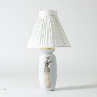 "Stoneware ""Grazia"" table lamp by Stig Lindberg"