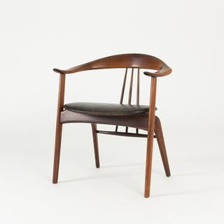 Rosewood armchair by Arne Hovmand Olsen