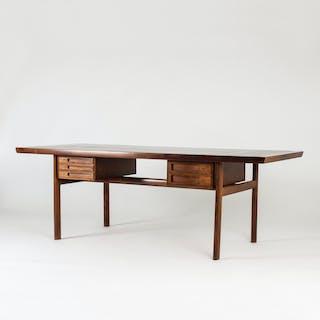 Rosewood desk by Peter Hvidt & Orla Møllgaard