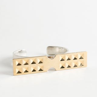 Gold-plated silver bracelet by Sigurd Persson