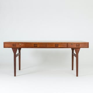 Teak desk by Nanna Ditzel
