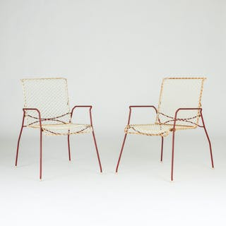 Pair of armchairs from Grythyttan