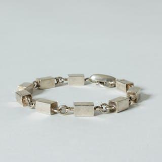 Silver bracelet by Arvo Saarela