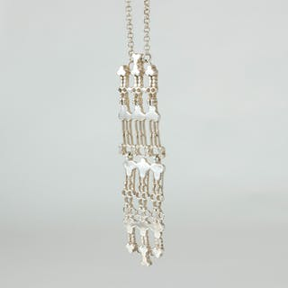 Silver pendant by Marianne Berg