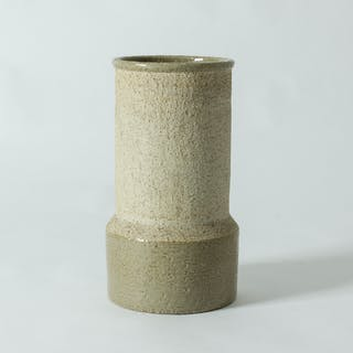 Stoneware floor vase by Hertha Bengtsson