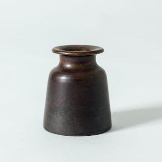 Small stoneware vase from Tobo