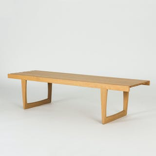 """Tokyo"" bench or coffee table by Yngvar Sandström"