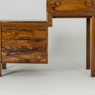 Rosewood desk from 1930 by Carl Hörvik