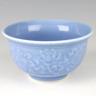 CHINESE PORCELAIN BLUE BOWL