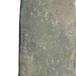 A European bronze age copper flat axe