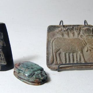 A lot of three attractive ancient seal reproductions