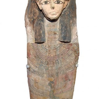 Beautiful Egyptian panel from the lid of a sarcophagus