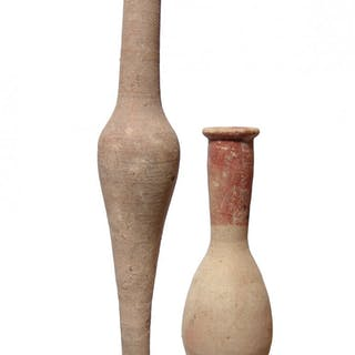 A lot of 2 Hellenistic and Roman bottles