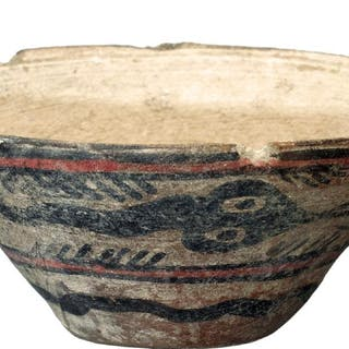 A beautiful Harappan dish from the Indus Valley