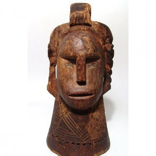 An attractive Idoma wood mask from Nigeria