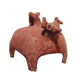 Colima incense burner in the form of a deer
