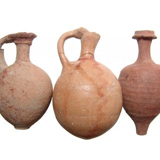 A group of 3 Greek and Roman vessels