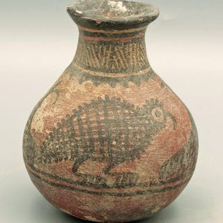A fine Harappan vase from the Indus Valley