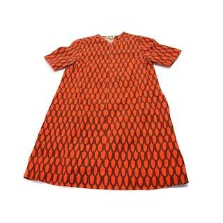 Marimekko Cotton Shirt Dress, Late 1960s.