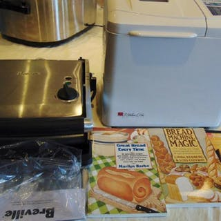 Regal Kitchen Pro Bread Maker Breville Panini Grill