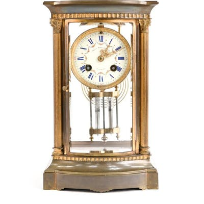 Bailey Banks Biddle Bronze Mantle Clock Barnebys