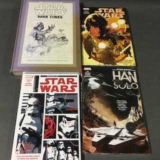 4 Star Wars Sealed Graphic Novels