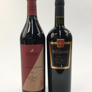 2 California Red Blends.