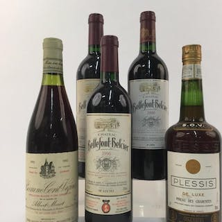 5 French Wines & Cognac.