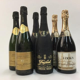 6 Sparkling Wines.