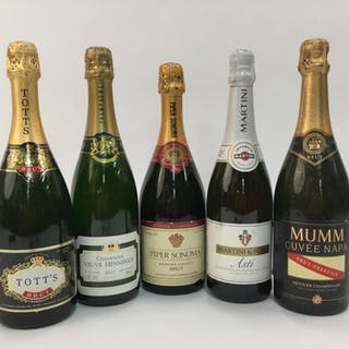 5 Sparkling Wines.