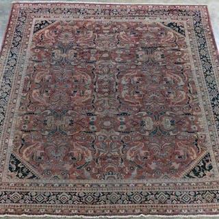 "Handwoven Persian Mahal Rug, 13' 6"" x 10' 5"""
