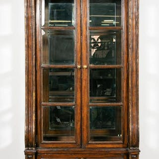 Large Marge Carson Mahogany Display Cabinet