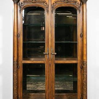 "Oversized Henredon ""Amalfi Coast"" Display Cabinet"