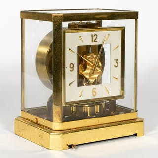 1964 LeCoultre Atmos Perpetual Motion Mantle Clock