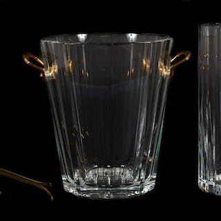 Baccarat Crystal Vase and Champagne Bucket