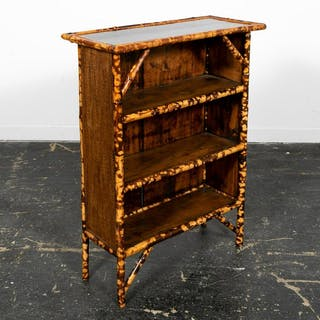 19th C. Bamboo Aesthetic Movement Bookcase