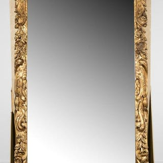Palatial Chapman & Bros. Carved Giltwood Mirror
