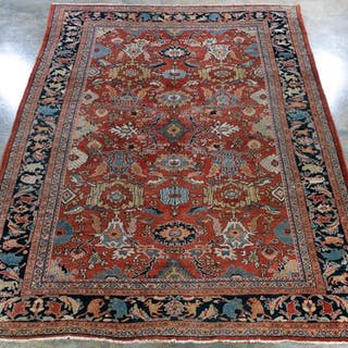 Handwoven Persian Mahal Area Rug, 15