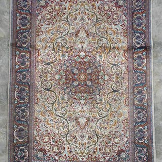 "Handwoven Persian Lavar Area Rug 7' 3"" x 4' 7"""