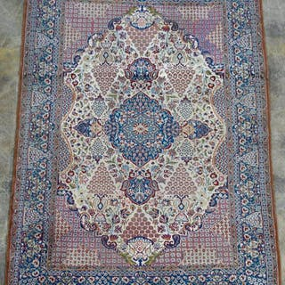"Handwoven Persian Lavar Area Rug 7' 4"" x 4' 8"""