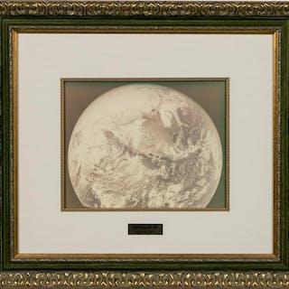 """Harper Leiper, Apollo 16 """"Earth - North America"""""""