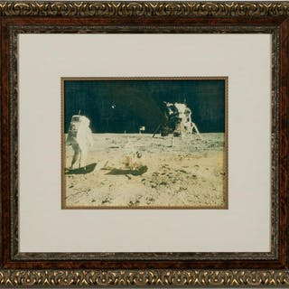 Harper Leiper, Apollo 16 Moon Landing Canvas Print